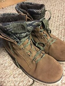 North face boots size 12