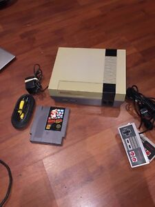 Nes system works excellent with super Mario game All wires