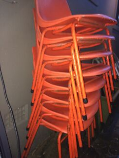 Plastic stackable chairs  Narraweena Manly Area Preview