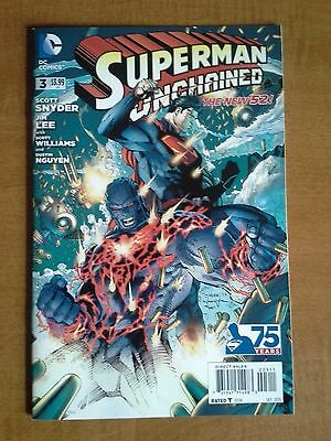 Superman Unchained 3 NM or Better Never Read 1st Print Snyder Lee New