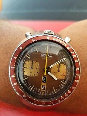 Vintage Seiko Bullhead 6138-0040 Chronograph Automatic Watch - CW