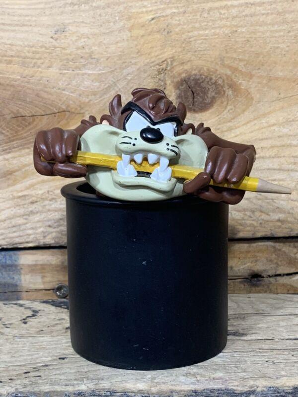 Taz Tasmanian Devil Warner Bros Looney Tunes Vintage 1997 Pencil Holder