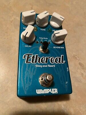 Wampler Ethereal Reverb and Delay Guitar Effects Pedal - Free Shipping!