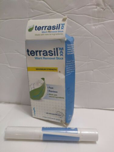 Terrasil Wart Removal Stick MAX - Pain-free Patented 100% Gu