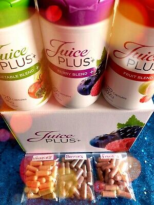 Juice Plus Capsules x 60. Fruits Veggies & BerriesFULL STRENGTH