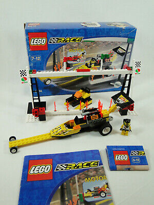 Lego Race 6616 Rocket Dragster Complete with Instructions Oba + Boxed