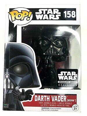 Funko Pop! Star Wars Darth Vader Bespin Smugglers Bounty Exclusive #158 Figure