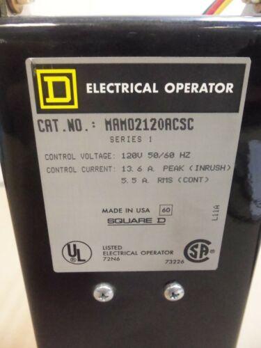 Square D Electrical Operator MAMO MAMO2120ACSC 120v Controls 13.6 Amp