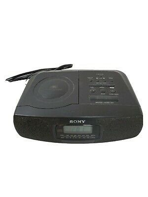 Sony CD/AM/FM Radio Alarm Clock
