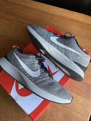 Nike Dualtone Racer Trainers Size 9 Eu44 Grey Black