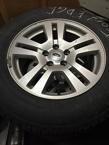 """17"""" Ford Edge Wheels and Tires"""