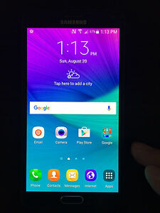 Samsung Note Rogers / Chatr / fido ? - Mint