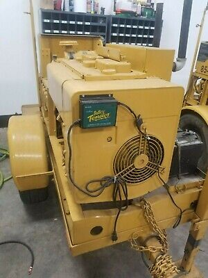 10kw Diesel Military Generator Wonan Air Cooled Engine Mep-003a On Trailer