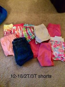 Girl lot; newborn, 0-3, 3-6, 6-9, 12-18/18-24