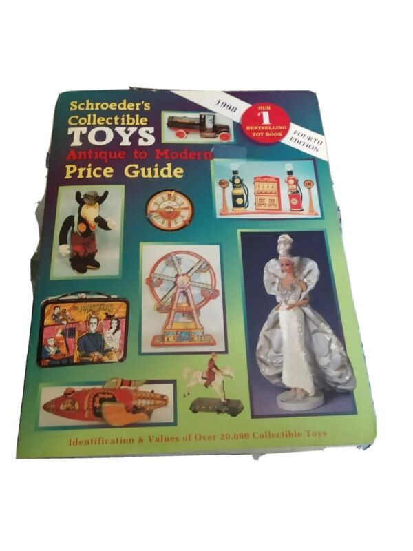 Schroeders ANTIQUE TOYS 14th Edition PRICE VALUE GUIDE FREE SHIPPING