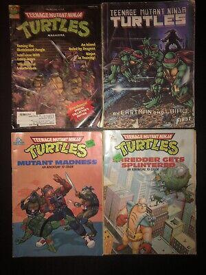 Teenage Mutant Ninja Turtles Colors (Vintage TEENAGE MUTANT NINJA TURTLES Coloring/ Comic/ Activity Books Lot of)