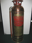 Badger Brass Fire Extinguisher