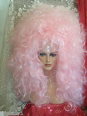 HALLOWEEN SPECIAL VEGAS GIRL WIGS PICK COLOR DOUBLE TROUBLE 2 WIGS IN THIS STYLE - Vegas Halloween Girls