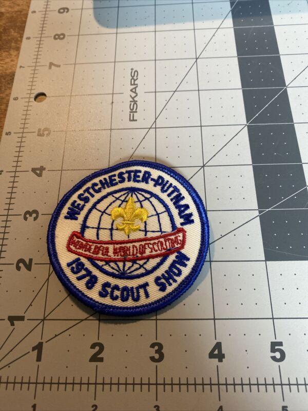 1978 Westchester-Putnam Council Scout Show BSA Boy Scouts of America 53C-606D