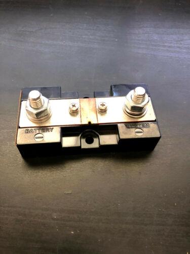 DC Ammeter Shunt, 50 mV, 500 or 1200 amps