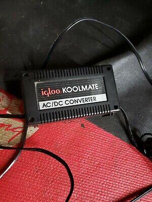 IGLOO KOOL MATE 1674 120V / 12V POWER SUPPLY CONVERTER