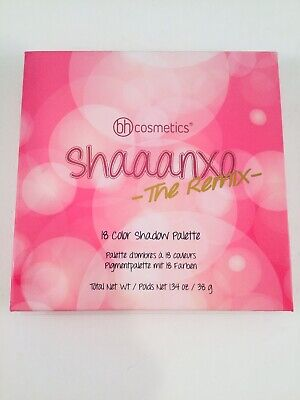 bh Cosmetics Shaaanxo The Remix 18 Color Eye Shadow Palette NIB Mattes,