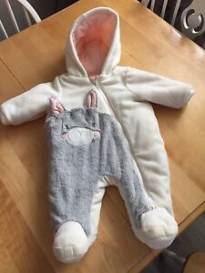 0-3mths snowsuit