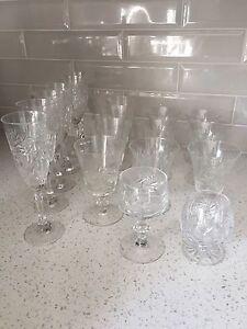 18 Coupes et verres Pinwheel