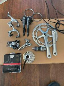 Campagnolo Record (circa******2002), 10 speed group set. Complete