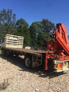 Crane Truck Austral Liverpool Area Preview