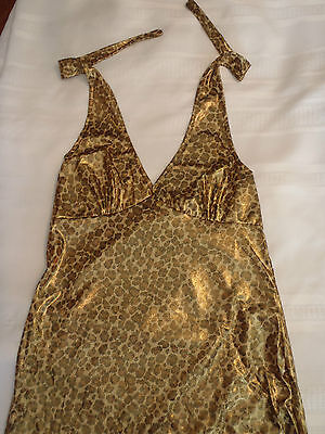 RUBIES One Size Jersey Shore Snooki Sexy Leopard Halter Dress Costume NWT](Jersey Shore Costume)