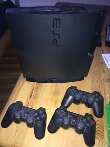 PS3 with 25 games and 3 controllers