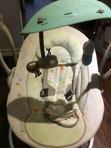 Balançoire pour bébé ingenuity