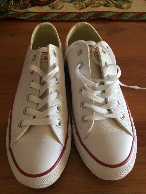 ca41c476dd3 Converse Chuck Taylor All Star Original Low Leather White (UK Size 7 ...