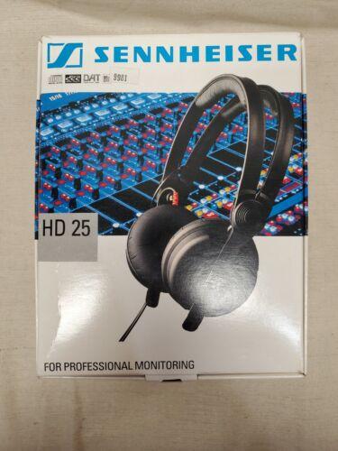 Sennheiser HD 25 Professional Monitor DJ Recording Headphones - Open Box