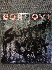 Bon Jovi Slippery When Wet Vinyl Album