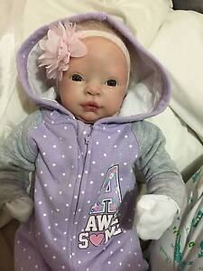 Sold:Reborn Baby Girl - LIfelike Vinyle Baby Doll Docklands Melbourne City Preview