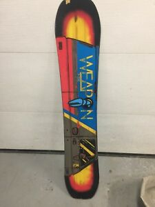 K2 weapon snowboard (148)