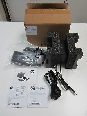 New HP Thunderbolt Dock G2 Docking station 120 Watt With Charger 2SU51AV#ABA