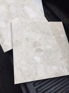 MARBLE TILE MUST GO!!! $200 FIR THE LOT!!!