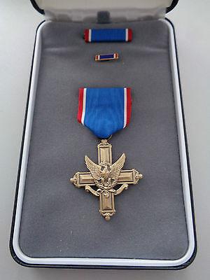 *(A19-004) US Army Cross 2 höchster Orden der USA original im Etui