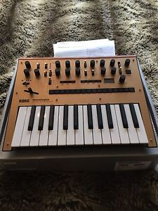 Korg Monologue Synth (MINT condition)