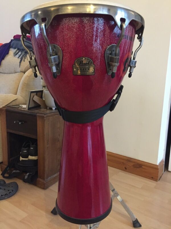Pearl Elite Series Djembe Including Stand And Carry Case