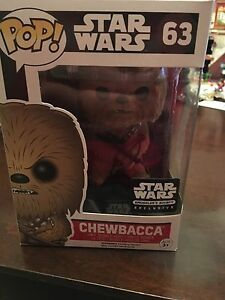 Chewbacca exclusive funko pop smugglers bounty