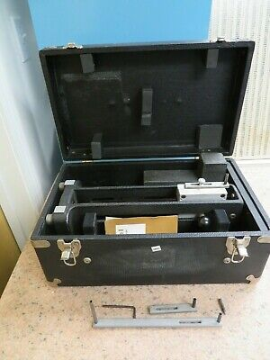 Indi-square Model 8-x Travel Square Squareness Tester - Granite Master Case Nr66