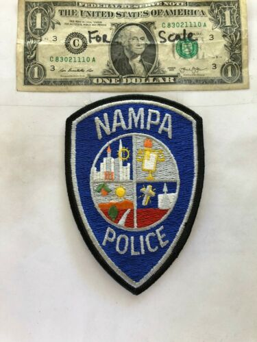 Nampa Idaho Police Patch Un-sewn in great shape