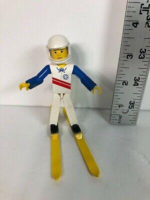 Lego Skier - Vintage 1980's figure - Used