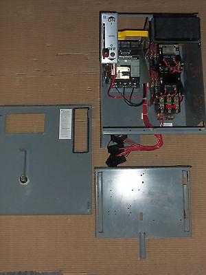 Square D Model 5 Size 1 Reversing Motor Starter 7 Amp Breaker Mcc Mccb Bucket