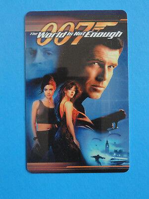 007 BOND - PIERCE BROSNAN - $5 BLOCKBUSTER GIFT CARD - NO VALUE ON CARD