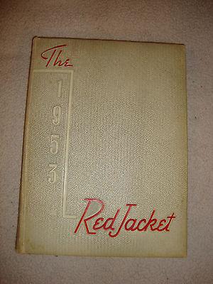 1953 Red Jacket Yearbook Jordan High School Columbus GA Bob Barr Band Director